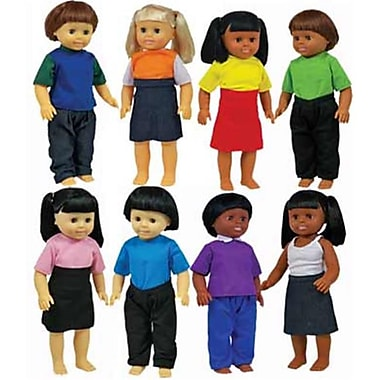 Get Ready Multicultural Dolls Set of 8 (GTRDY272)