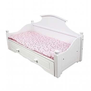 Teamson Design My Sweet Girl 18 in. Doll Trundle Bed (TMSN406)
