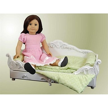 The Queens Treasures Victorian Trundle Dreamy Daybed fits American Girl Doll (TQST175)