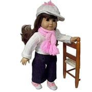 The Queens Treasure Doll Clothes for 18 in. American Girl Dolls - Casual Jean Doll Outfit (TQST005)