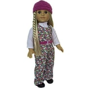 The Queens Treasure Doll Clothes for 18 in. American Girl Dolls - Girl Power Doll Outfit (TQST022)