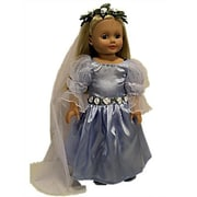 The Queens Treasure Doll Clothes for American Girl 18 Inch Dolls Royal Court Gown (TQST012)