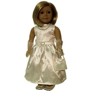 The Queens Treasure Doll Clothes for 18 in. American Girl Dolls - Gala Party Doll Dress - Complete Outfit (TQST016)