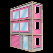 Wicked Cool Toys 18 in. My Girls Dollhouse Modern Style Home (WKD0258)