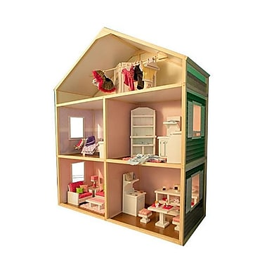 My Girls 18 Inch Dollhouse - Country French (WKDT009)