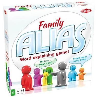 Tactic Toys Alias Family - Ages 7 years And Up (TCTY026)