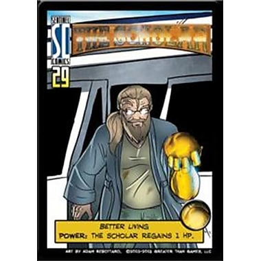 Greater Than Games SCHO Sentinels - The Scholar Mini-Expansion (ACDD4964)