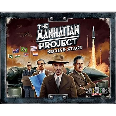 Minion Games MHP102 The Manhattan Project Second Stage Board Games (ACDD7093)