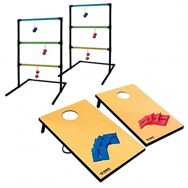Triumohsports 2-In-1 Tournament Bag Toss and ladder Toss (TRSP26)
