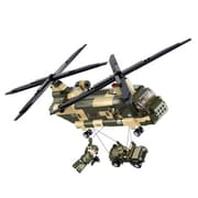 Sluban Transport Helicopter Building Block Set - 513 Bricks (CISA220)