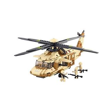 Sluban Blackhalk Helicopter Building Block Set - 434 Bricks (CISA221)