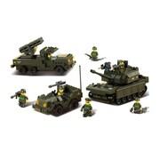 Sluban Battle Forces Building Block Set - 602 Bricks (CISA263)
