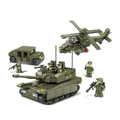 Sluban Amphibious on Rush Building Block Set,
