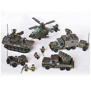 Sluban Antiaircraft Forces Building Block Set - 956 Bricks (CISA264)