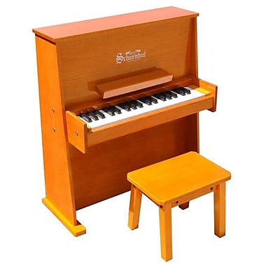 Schoenhut Toy Piano 37 key Oak Day Care Durable with Bench (SHTP026)