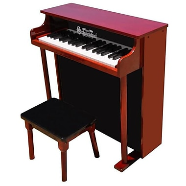 Schoenhut Toy Piano 37 key Mahogany and Black Classic Spinet (SHTP022)
