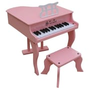 Schoenhut Toy Piano 30 key Pink Fancy Baby Grand with Bench (SHTP021)