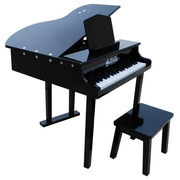 Schoenhut Toy Piano 37 key Black Concert Grand with Bench (SHTP029)