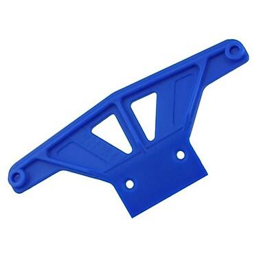 RPM Wide Front Bumper for Traxxas Rustler-Stampede-Bandit-Nitro Sport - Blue (RCHOB1789)