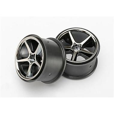 Traxxas Gemini Wheels - Black Chrome - 2 (RCHOB1466)