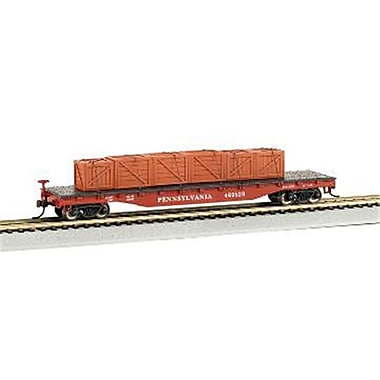 Bachmann Williams Ho Pennsylvania Railroad Flatcar with Crated load (SPWS924)