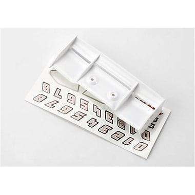 Traxxas White Wing with Decals 1-16 E-Revo (RCHOB1443)