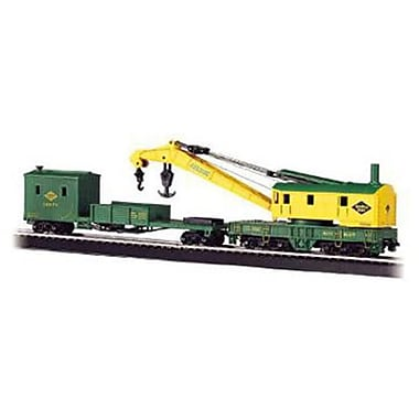 Bachmann Williams Ho Reading Crane Car and Boom Tender (SPWS803)