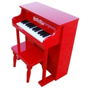 Schoenhut Toy Piano 25 key Carolina Red Traditional Spinet with Bench (SHTP009)