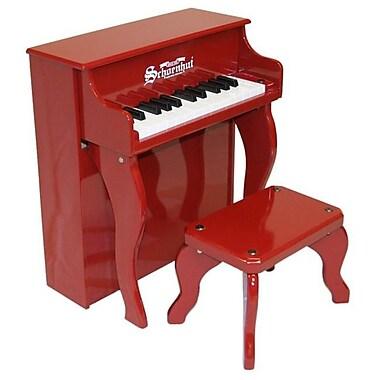 Schoenhut Toy Piano 25 key Carolina Red Elite Spinet with Bench (SHTP014)