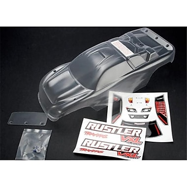 Traxxas Rustler Clear Body with Decals Wing and Hardware (RCHOB0700)
