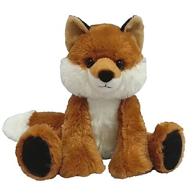 First and Main 7 in. Sitting Floppy Friends Fox Plush Toy (RTl226034)