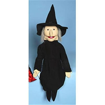 Sunny Toys 28 In. Witch, Sculpted Face