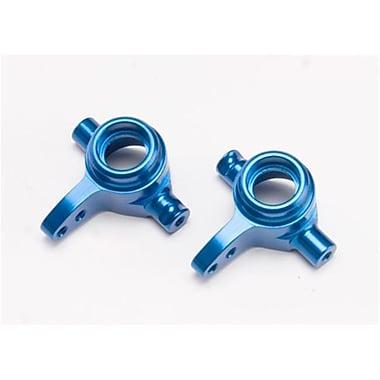 Traxxas Aluminum Steering Blocks left and Right Blue Slash 4x4 (RCHOB1349)