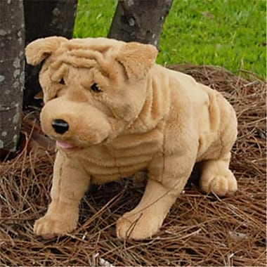 Sunny Toys 15 In. Shar Pei - Sitting, Animal Puppet (SNTY302)