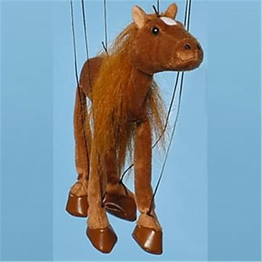 Sunny Toys 16 In. Baby Horse - Brown, Marionette Puppet (SNTY483)