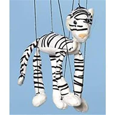 Sunny Toys 16 In. Baby Tiger - White, Marionette Puppet (SNTY489)
