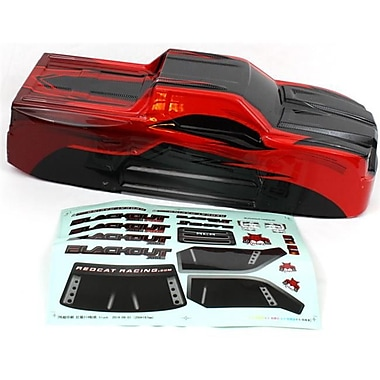 Redcat Racing Truck Body With Decal Sheet, Red (RCR03176)