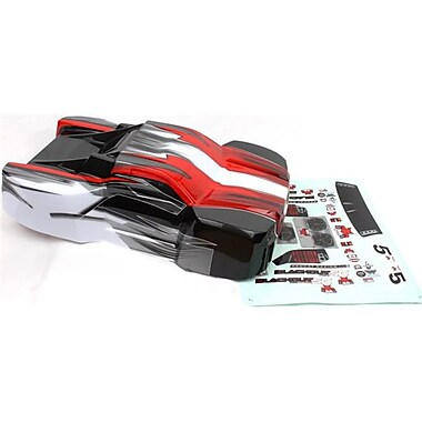 Redcat Racing Short Course Truck Body, Red (RCR03169)