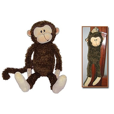 First and Main 7.5 in. Sitting Monty Monkey Plush Toy (RTl226006)