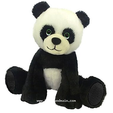 First and Main 7 in. Sitting Floppy Friends Panda Plush Toy (RTl226021)