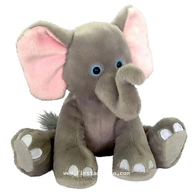 First and Main 7 in. Sitting Floppy Friends Elephant Plush Toy (RTl226027)