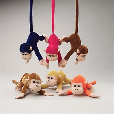 US Toy Company Monkeys W/Bendable Tails (2 Packs Of 12)