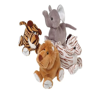 US Toy Company Big Foot Wild Beanbag Animals (2 Packs Of 12)