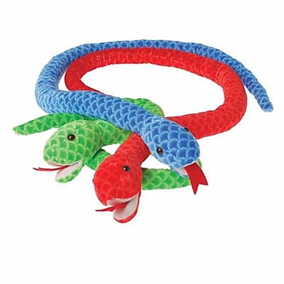 US Toy Company Jumbo Scaly Snakes (2 Packs Of 12) 2628093