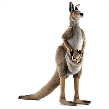 Hansa Toys Kangaroo- Mama and Joey (HANS006)