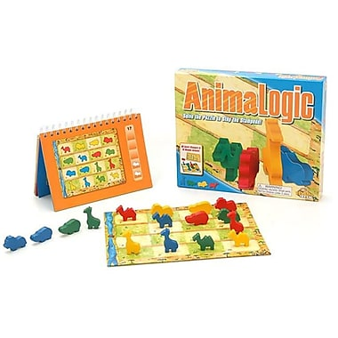 Fat Brain Toy Co Animalogic with Sixty Puzzles and Five levels (FTBRN039)