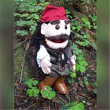 Sunny Toys 14 In. Pirates - Caribbean, Glove Puppet (SNTY141)