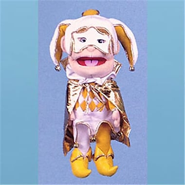 Sunny Toys 14 In. Jester In Gold, Glove Puppet (SNTY138)