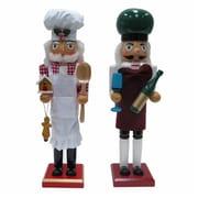 Danson Hong Kong xDHK32003MOD1 15 in. Chef Novelty Wood Nutcracker (TRVAl81650)