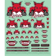 Redcat Racing Die Cut Redcat Stickers - 9 x 10.5 in. (RCR03143)